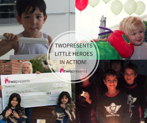 Twopresents Little Heroes